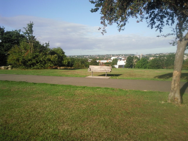 Lovely views from Mountsfield Park
