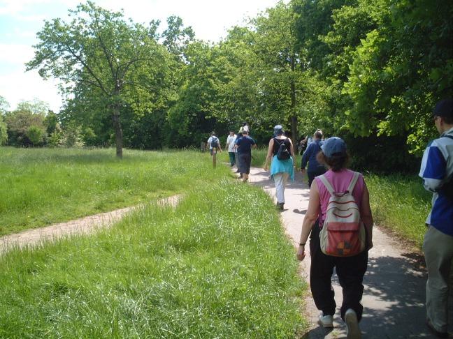 Walking Chinbrook Meadows