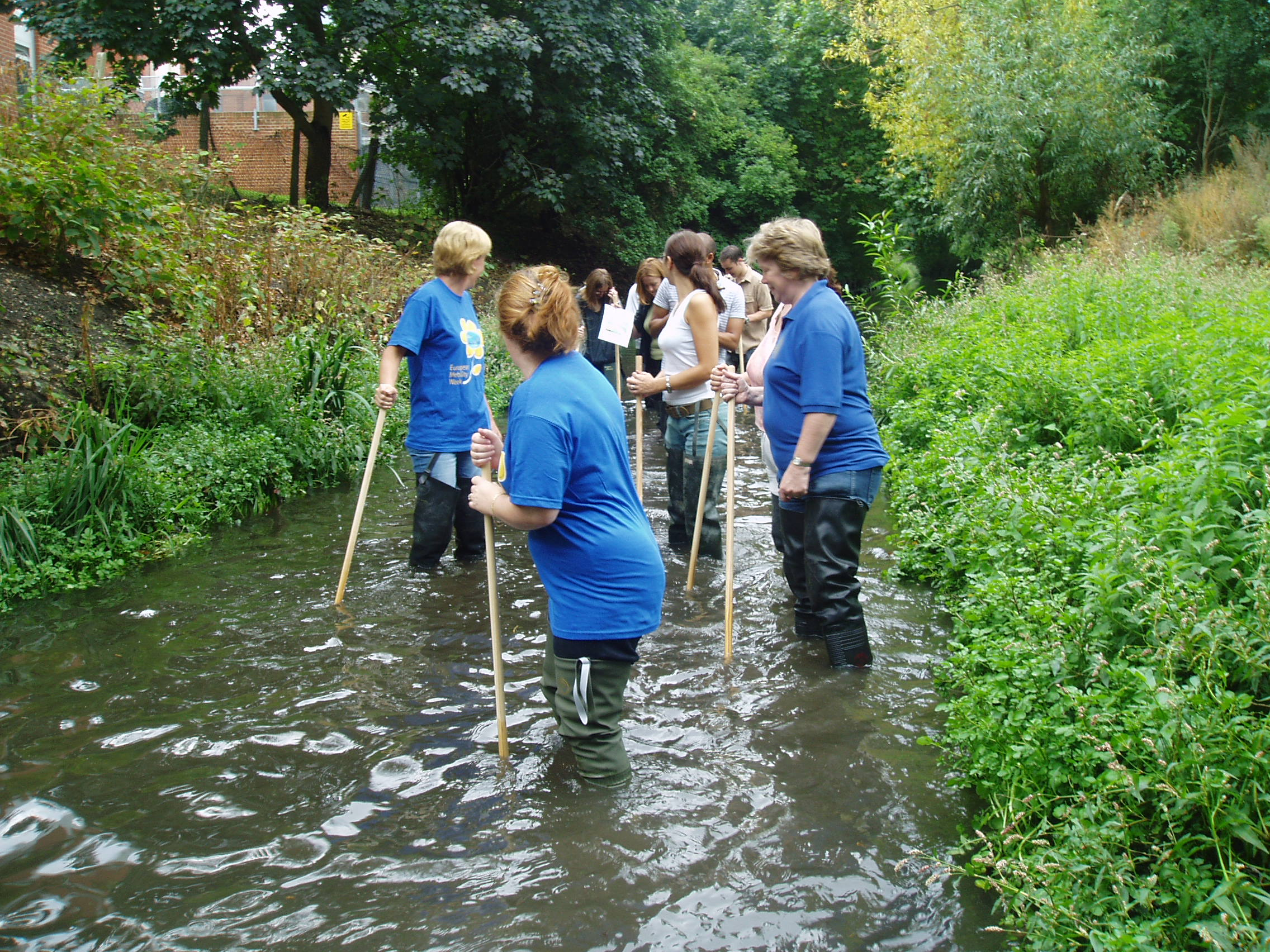 Ladywell Fields River Clean Up | Nature Conservation Lewisham