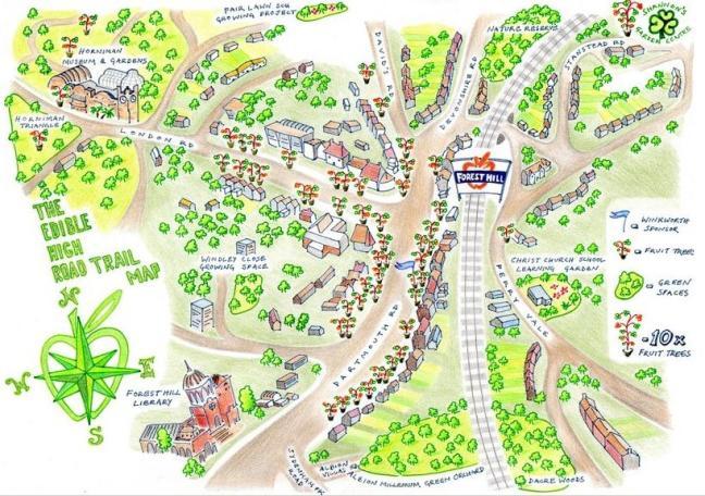 Edible High Road map