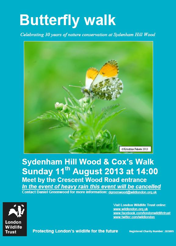Butterfly Walk at Sydenham Hill Wood