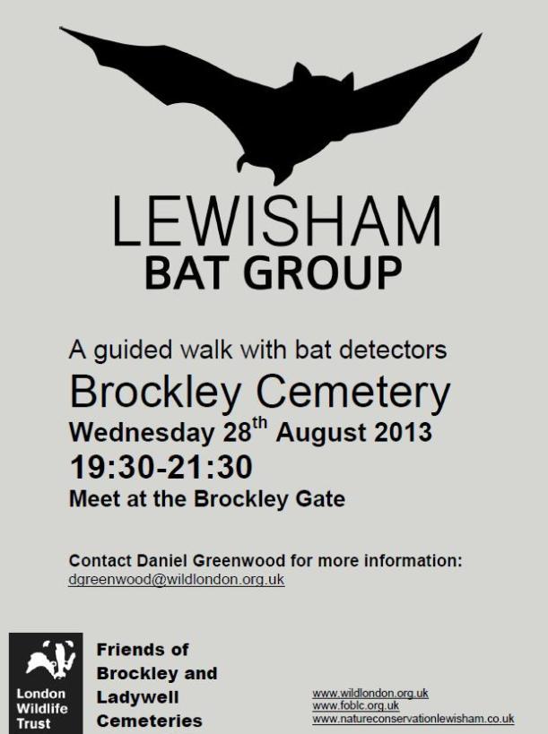 LWT bat walk
