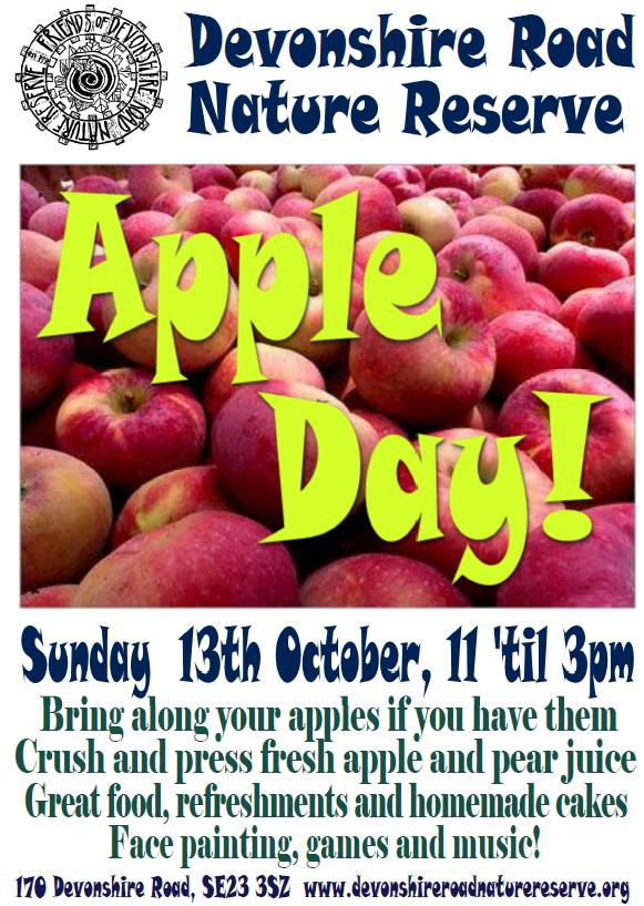 Apple Day at Devonshire Road