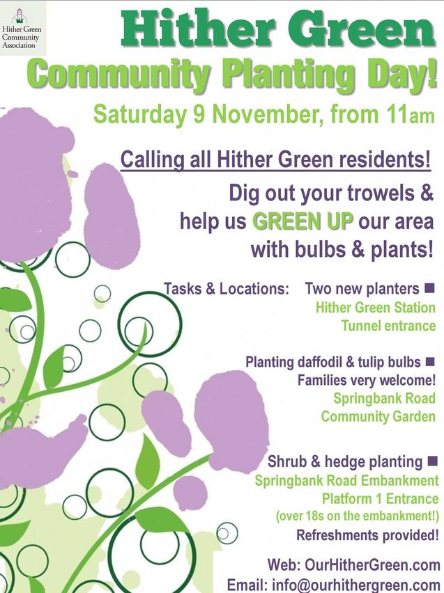 Hither Green Community Planting Day