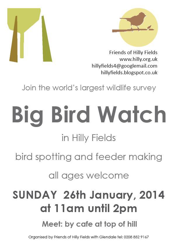 Hilly Fields bird watch