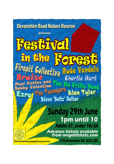 Poster Festival in the forest 2014