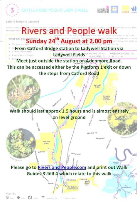 RaP walk 24th August
