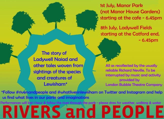 Join London Bubble for some river theatre