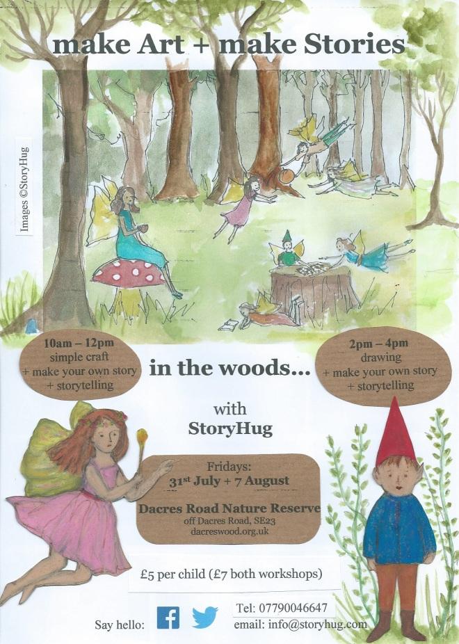 Story Hug at Dacres Wood