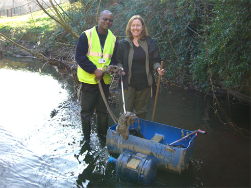 Help clear up the rivers of Lewisham