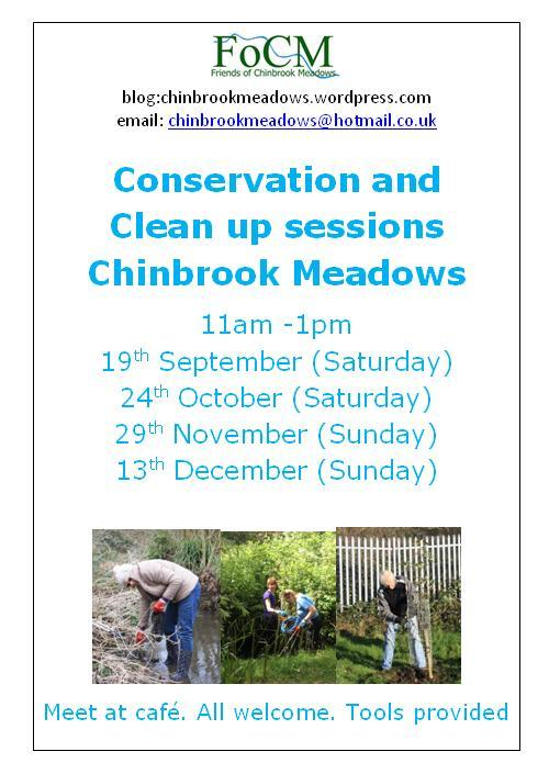 Join the Friends of Chinbrook Meadows on one of their workdays