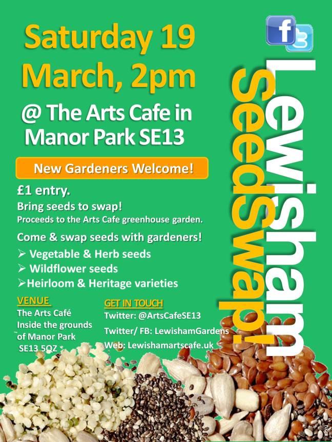 Lewisham Seedswap @ArtsCafe