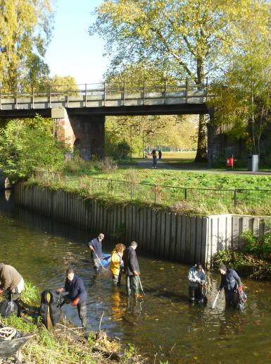 Join Thames21 for a wade in Ladywell Fields