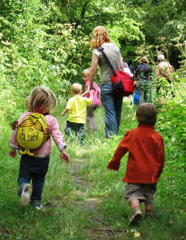 Nursery Group at Garthorne Road nature reserve