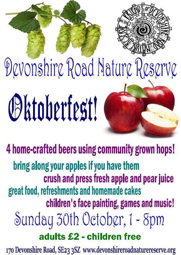 Friends of Devonshire Road Oktoberfest