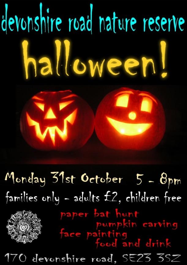 Friends of Devonshire Road Halloween