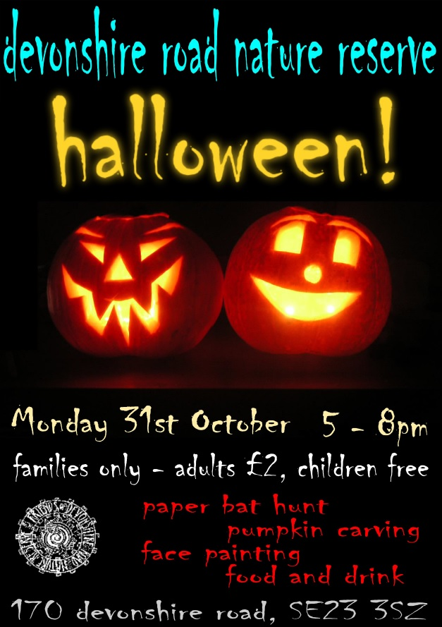 Friends of Devonshire Road Halloween