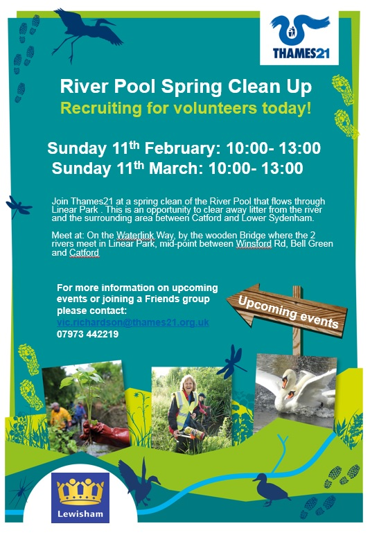 Thames 21 River Pool events