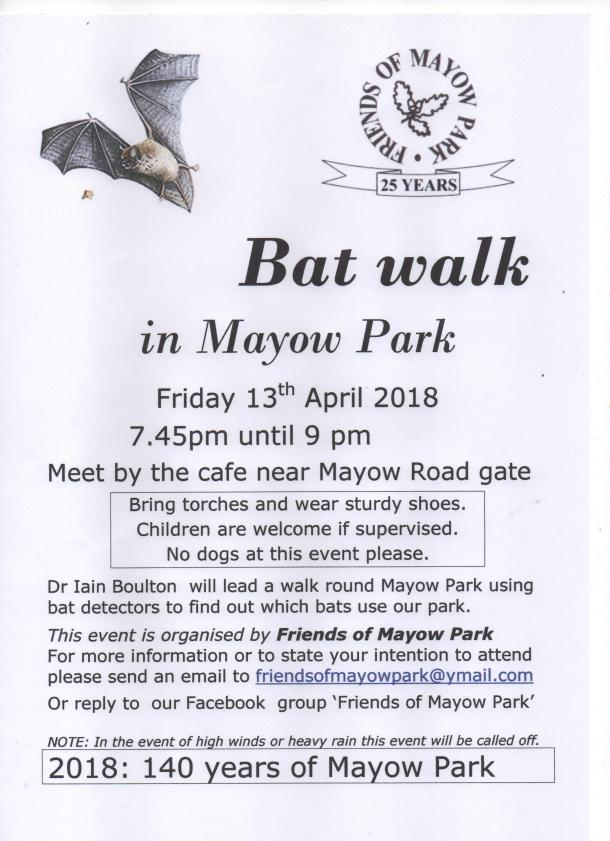 BAT WALK Apr2018 JPG