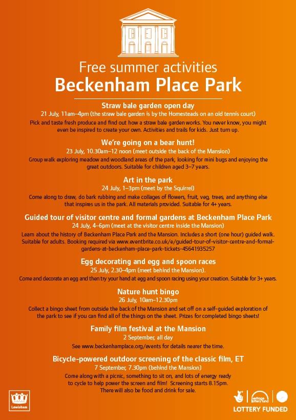 2018 07 Beckenham