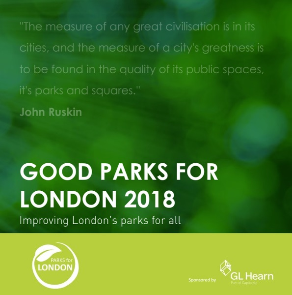 Good Parks for London 2018